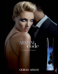 Armani code - Luxury ads