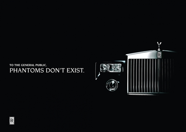 Rolls royce - luxury advertising