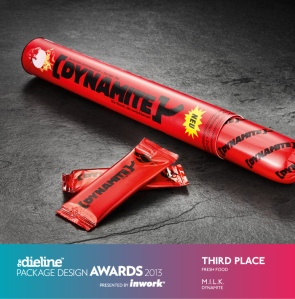 Packaging - brand personality - Dynamite hot dogs