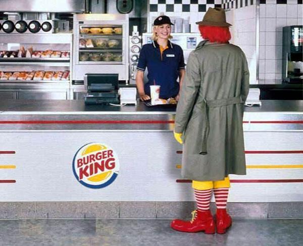 Burger King vs Mc Donalds - Flanking Strategy 2
