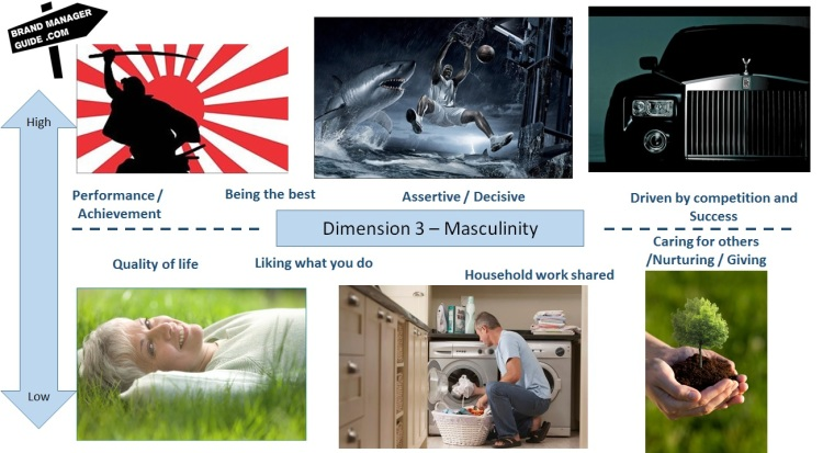 Hofstede dimensions - Masculinity